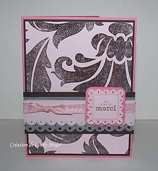 Pink and Brown Brocade_Cindy Major