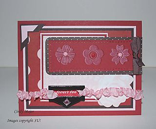 Faux embossing Eatern Blooms_Cindy Major