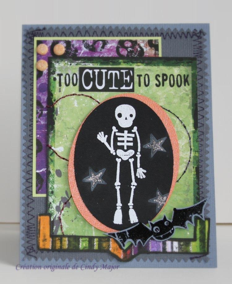 Carte Too cute to spook
