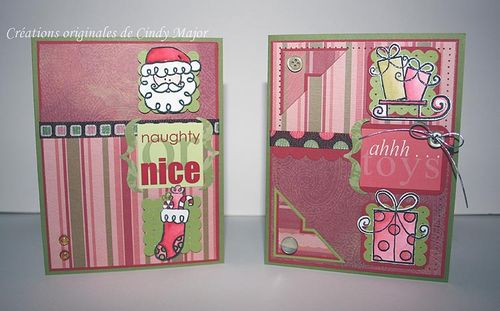 Cartes de Noel Doodlebug_more is more