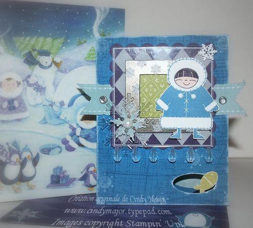 Carte Framed Polar Pals