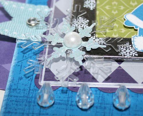 Carte Framed Polar Pals_close up 1
