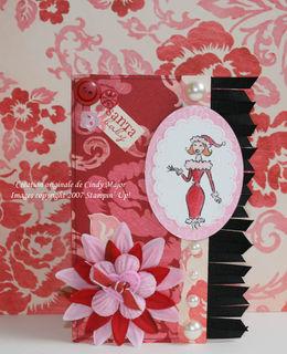 Carte Santa Baby