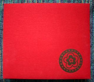 Album lin rouge Decor Element