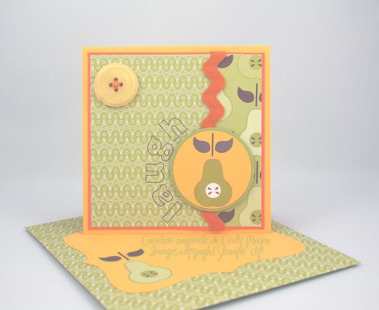 Carte poire Bright Delights