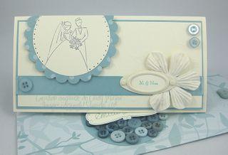 Carte mariage vanille et zephyr