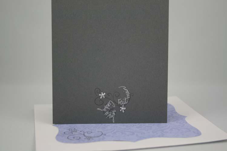 Carte de mariage kiwi améthyste safran gris_arriere