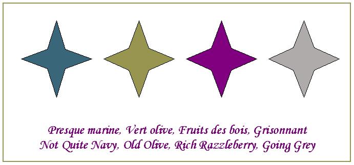 Marine olive fruits gris