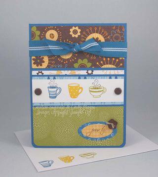 Carte Trois tasses