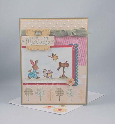 Carte joyeux pique-nique petite merveille