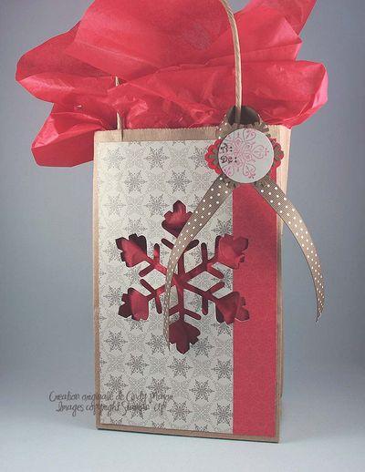 Sac-cadeau Flocon