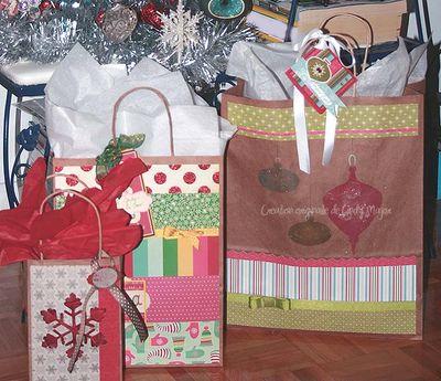 Emballages cadeaux Noel 2009