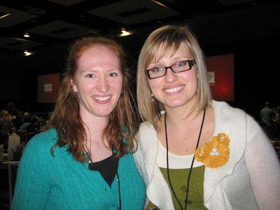 Sarah and Cindy