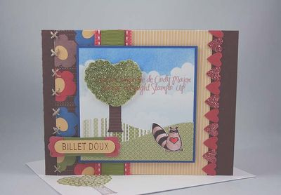Carte billet doux Love Bandit