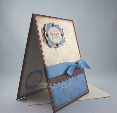 Carte Framed With Love Shabby Chic