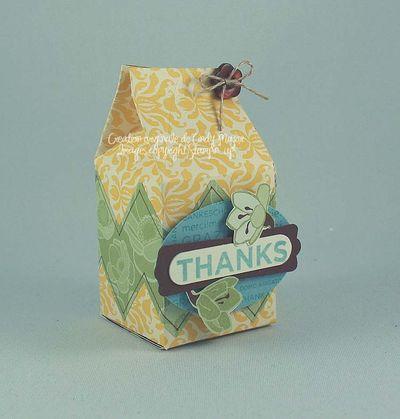 So Many Thanks Carton Milk