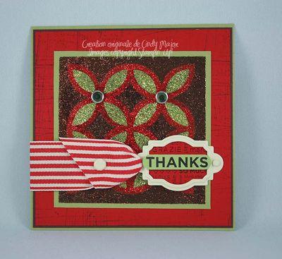 So Many Thanks Glitter Puzzle
