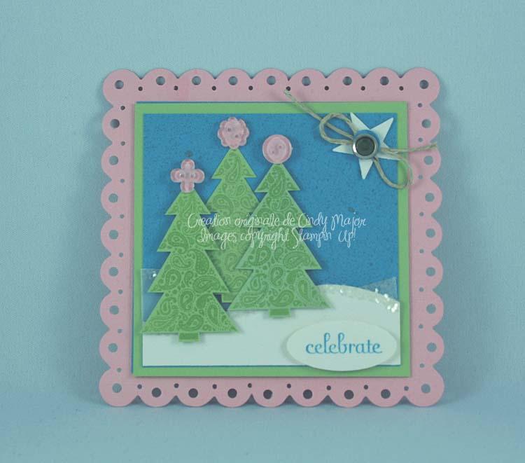 Paisley Prints Christmas Trees
