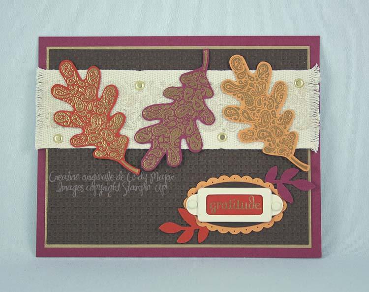 Paisley Prints Three Leaves