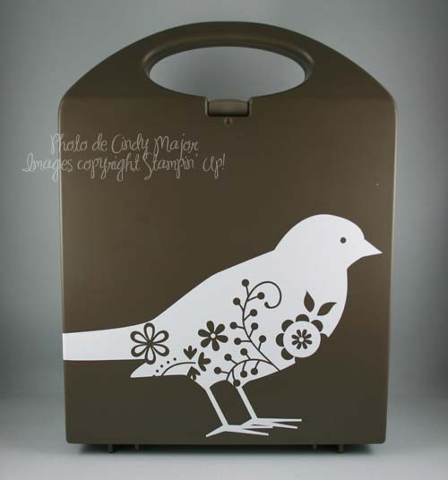 Bird on acrylic block case