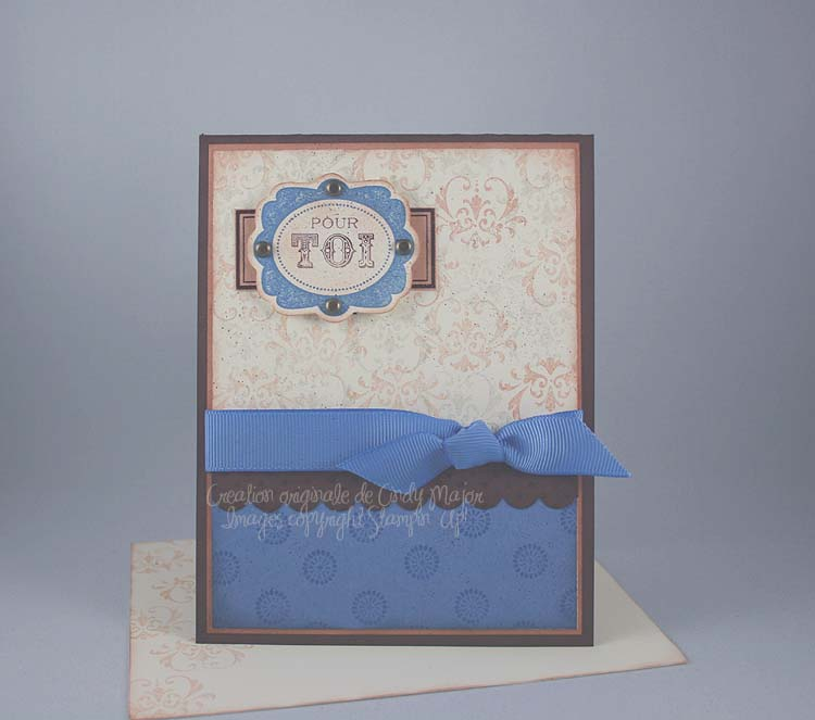 Carte Framed With Love Shabby Chic_2
