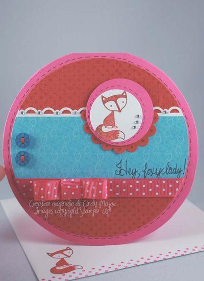 Carte Hey Foxy Lady