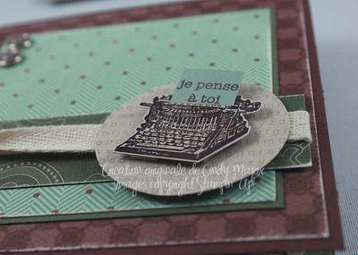 Carte Just My Type_close up