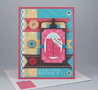 Carte Cadeau avec etiquette Amusons-nous