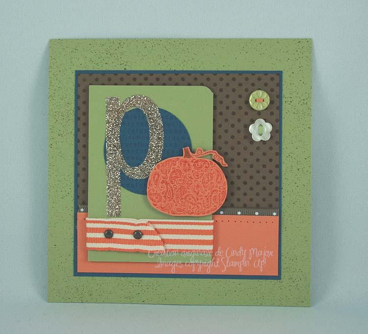 Paisley Prints P for Pumpkin