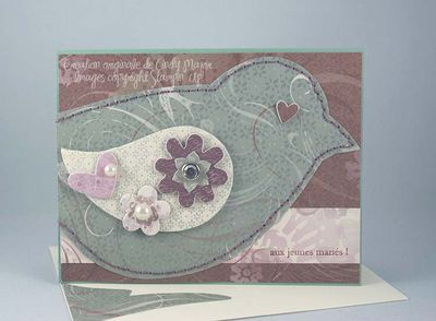 Carte Oiseau Enchante