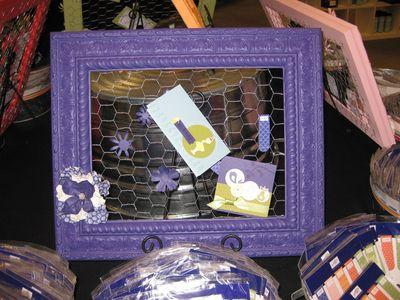 Frame - purple