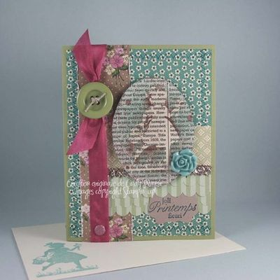 Carte+Medaillon+fillette+First+edition