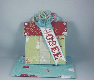 Carte cadeau pour Josee