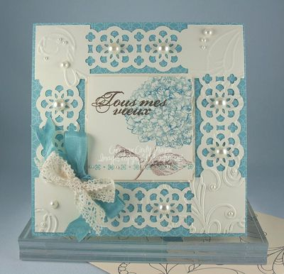 Carte Elegant cadre
