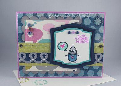 Carte Just Your Love Machine Bubbles