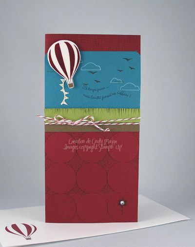 Carte Up and Away catalogue CASE