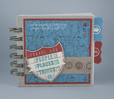 Carnet de notes Travel Log