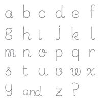 Sweet Shoppe Alphabet