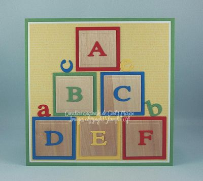 Carte ABC blocks