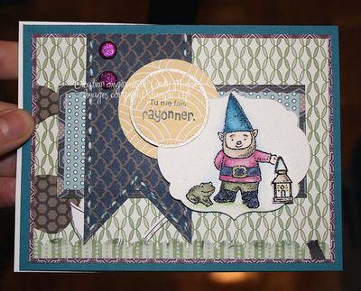 Carte Gnome tu me fais rayonner