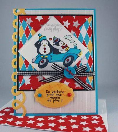 Carte_pingouins_clowns_en_voiture_pour_une_annee_de_plus