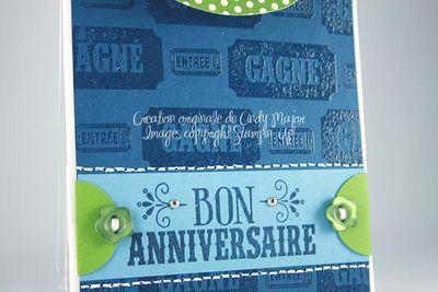 Sac-cadeau Bon anniversaire Petit frere_close up 1