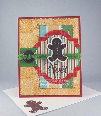 Carte Pain epice Noel safran chlorophylle capulet
