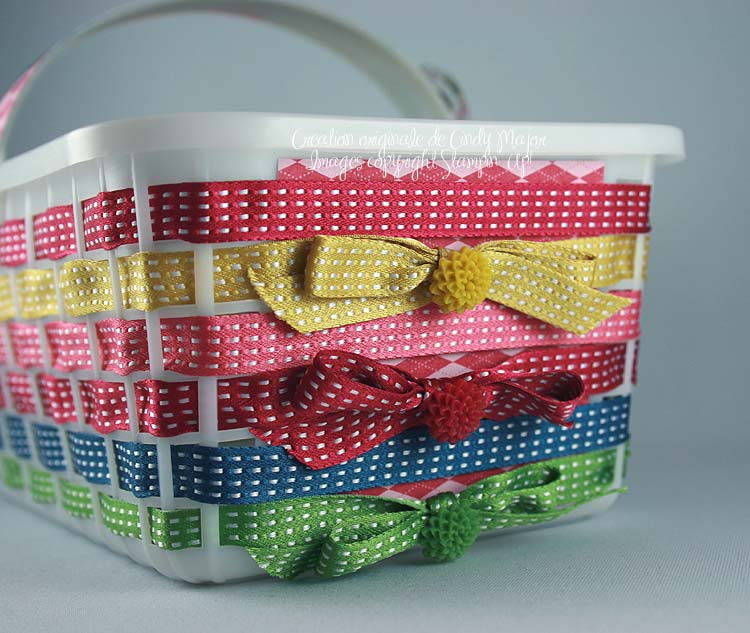 Panier rubans In Color_close up 1