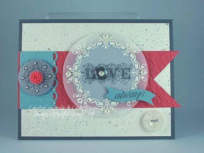 Carte Daydream Medallions Love