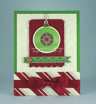 Carte Boule de Noel 2