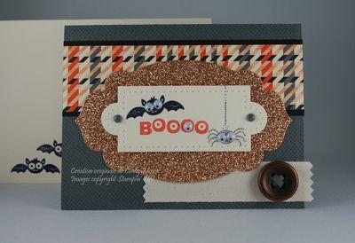 Carte Boo googly eyes