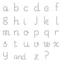 Sweet Shoppe Alphabet Lower