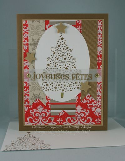 Carte Sapin en etoiles Choco-Noel