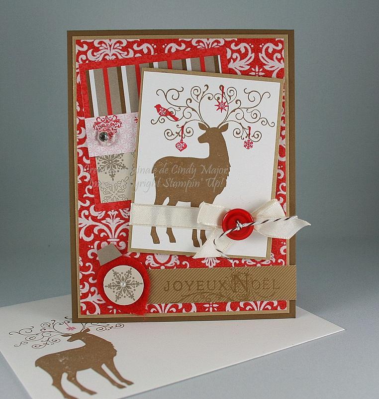Carte Renne Choco-Noel